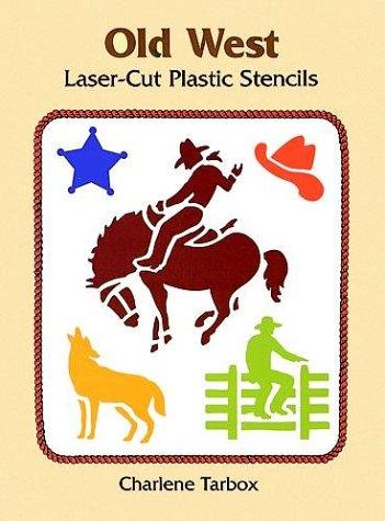 Old West Laser-Cut Plastic Stencils (Dover -