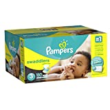 #5: Pampers Swaddlers Diapers Size 3, 180 Count (One Month Supply)