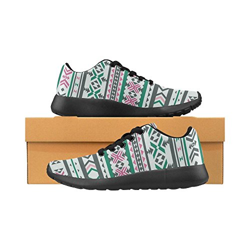 Women's Size Casual 6 Lightweight US Sneakers Athletic Running on Print Motifs Pattern Zenzzle 15 Ethnic Shoes wfXqnO