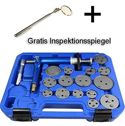 Coffret Retractor de pistón de freno + un espejo de inspección telescópico