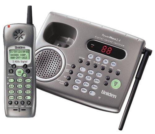 Uniden TRU 4485 2.4 GHz PowerMax Digital Spread Spectrum Cordless Phone w/Digital Anwering System with Call Waiting/Caller (Digital Spread Spectrum Cordless Telephone)