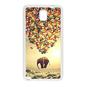 Elephant and colorful balloon Cell Phone Case for Samsung Galaxy Note3