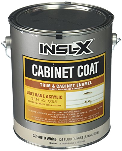 (INSL-X Products SG Cab Corp CC4610092-01 Gallon White Semi-Gloss Cabinet Enamel, 1)