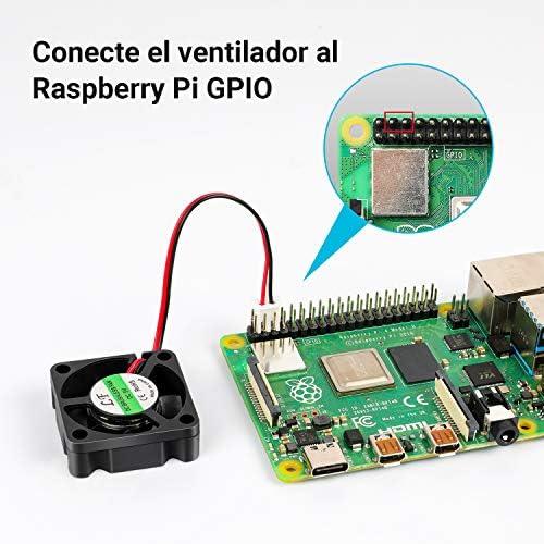 LABISTS Caja para Raspberry Pi 4 Modelo B, Raspberry Pi 4B Caja ...
