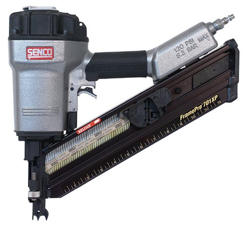 Senco 2H0033N FramePro 701XP Clipped Head 2-Inch to 3-1 2-Inch Framing Nailer