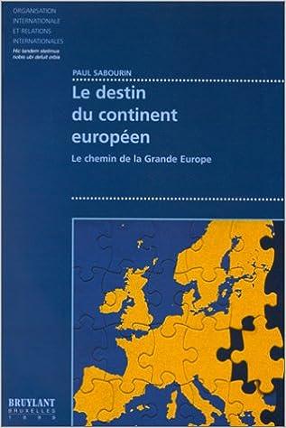 Livres gratuits Le destin du continent européen pdf