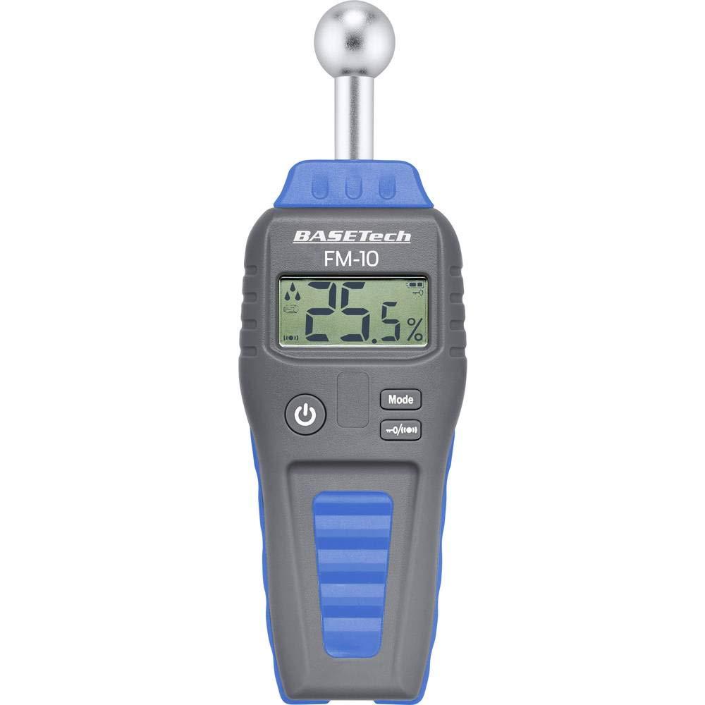 s Humidim/ètre pour mat/ériaux Basetech FM-10 BT-1629564 Construction 0.1 /à 99.9/% vol Bois 0.1 /à 99.9/% vol 1 pc