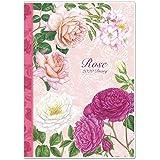 薔薇のダイアリー スケジュール帳 A6サイズ 2020年 ローズ 手帳 (クラシックローズ ピンク)