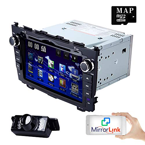 8 inch Digital Touch Screen Car Radio 2Din Stereo in Dash for Honda CRV...