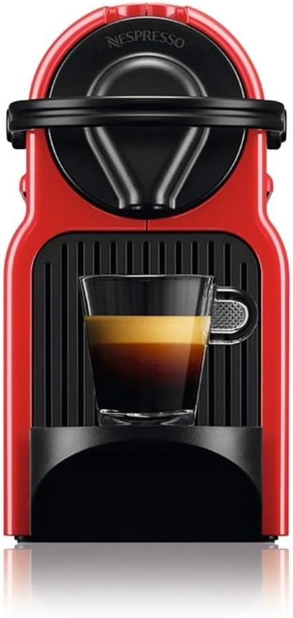 ماكينة تحضير القهوة من نيسبريسو، سعة 0.7 لتر وقدرة 1260 واط، أحمر