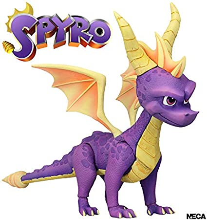 Amazon.com: Spyro The Dragon Spyro Figura: Toys & Games