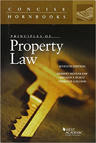 Seventh Edition Principles of Property Law
