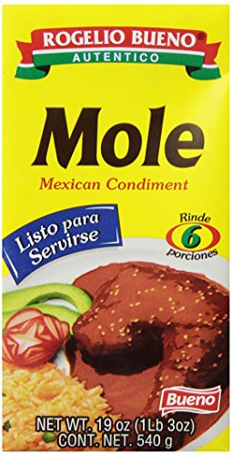 Amazon.com : Rogelio Bueno Mole Tetra Pack, 19-Ounce (Pack of 9) : Mexican Food : Grocery & Gourmet Food