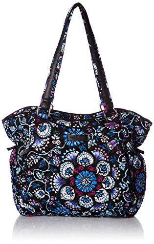 Vera Bradley Iconic Glenna Satchel, Signature Cotton, Bramble