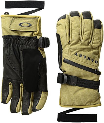 - Oakley Men's Kingpin Gore-Tex Gloves, Small, Burnished