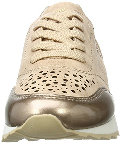 Dockers by Gerli Damen 40cr201-686929 Sneakers Gold (Gold/Multi 929)