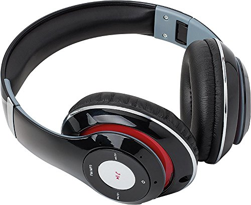Click to buy SoundLogic BFHM-12/6708 Foldable HD Bluetooth Headphones Black - From only $25