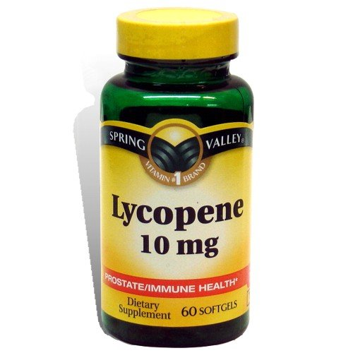 Spring Valley Prostate / Immune Health Lycopène 10 mg 60 ct