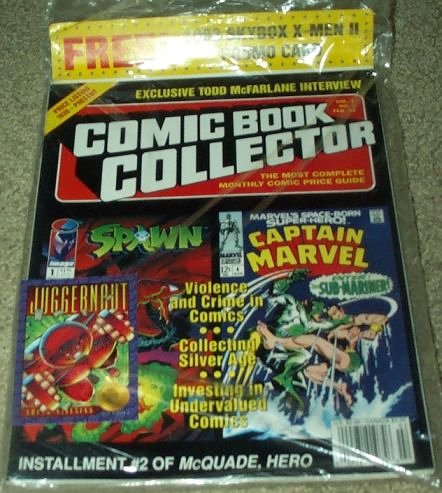 Comic Book Collector Magazine Volume 1, Number #2 (Exclusive Todd McFarlane Spawn Interview) (Toy Magazine Collectors)