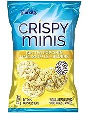 Quaker Crispy Minis Butter Popcorn (Pack of 12)