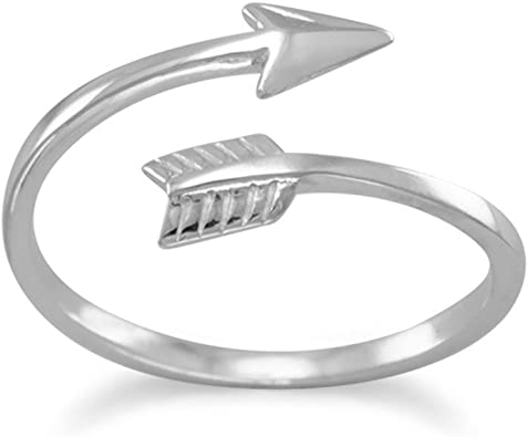 Stainless Steel Sterling Silver Inlay Ridged Edge Brushed and Polished Band Size 8 Length Width 8