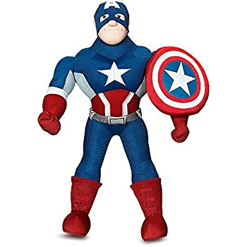 low-cost Ty Marvel Beanie Baby Captain America Plush 6 Inches Regular (free  gift 44ba52d9891