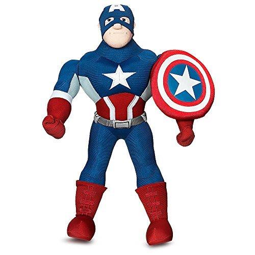 Marvel Captain America Plush Doll - 14 3/4 Inch