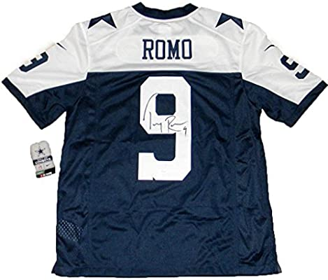 12228ad9f Tony Romo Signed Jersey - Nike Limited Thanksgiving - JSA Certified -  Autographed NFL Jerseys