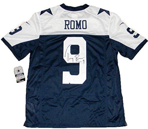 Tony Romo Signed Jersey - Nike Limited Thanksgiving - JSA Certified - Autographed NFL Jerseys