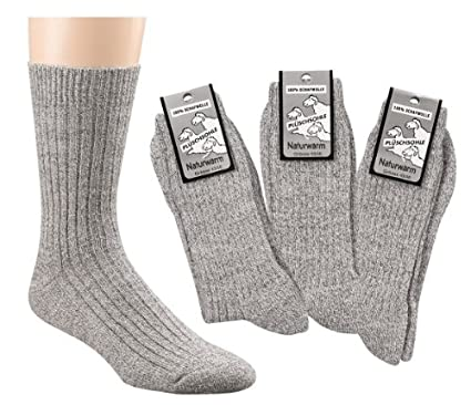 Wowerat 3 pares de calcetines sin goma noruegos calcetines de presion 100 de lana, Color:Gray;Size:UK 6-8 / EU 39-42: Amazon.es: Ropa y accesorios