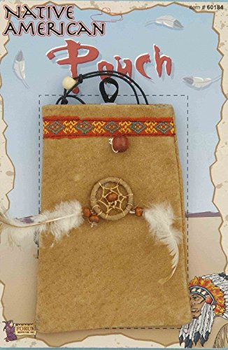 Forum Novelties Native American Indian (Indian Costumes Pouch)