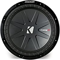 Kicker 40CWR124 CompR 12 Subwoofer Dual 4 Ohm Sub CWR12 (Certified Refurbished)