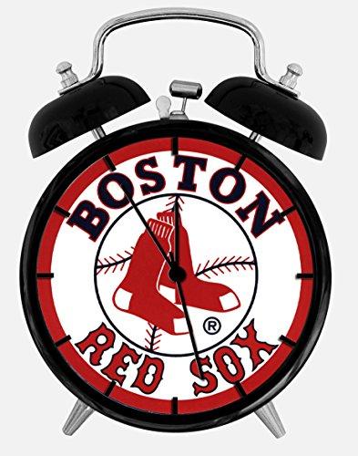 Red Sox Alarm Desk Clock 3.75