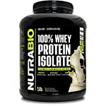 NutraBio 100% Whey Protein Isolate – Complete Amino Acid Profile – 25G of Protein Per Scoop – Soy and Gluten Free – Zero…