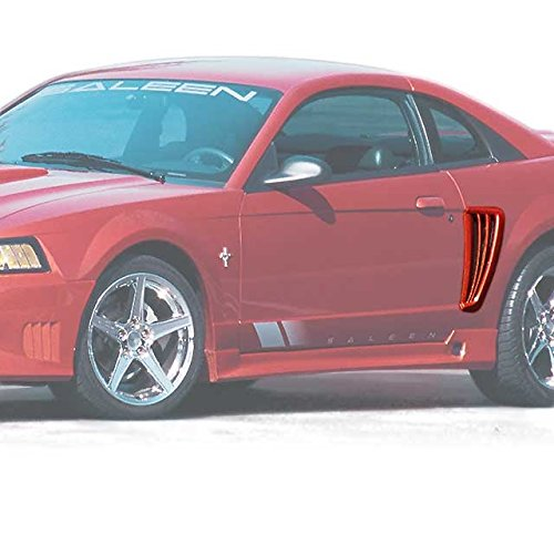 [Vicrez Ford Mustang 1999-2004 Sallen Style 2 Piece Polyurethane Side Scoops - vz100096] (Ford Mustang Side Scoop)
