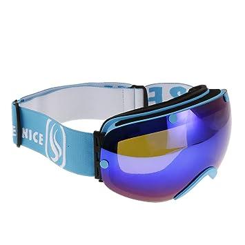 Baoblaze Gafas de Deporte de Nieve de Invierno Gafas de Sol ...