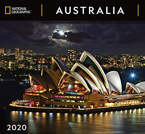 National Geographic Australia 2020 Wall Calendar (Australia Wall Calendar)