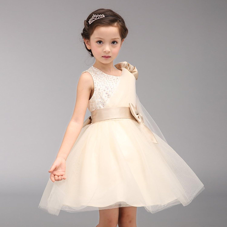 Amazon Fantastic Baby Cute Girls Dress One Shouldered Flower