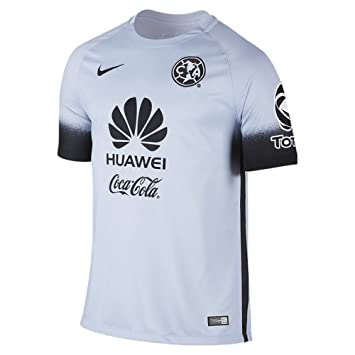 Nike Club América Estadio Decept Tercer Jersey 2016, Hombre, Silver/Black