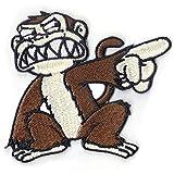 Evil Closet Monkey Patch Cartoon Embroidered Iron On