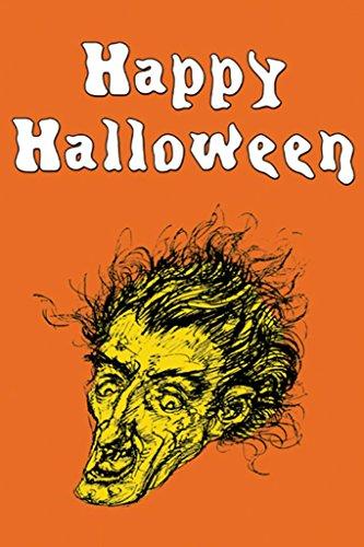 ArtParisienne Happy Halloween 24x36-inch Paper Giclée Print]()