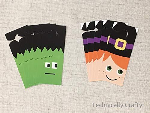 Technically Crafty Halloween Door Hangers (10 Pack)