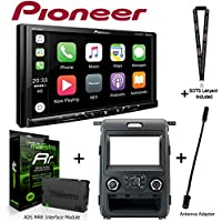 Pioneer MVH-2300NEX 7 Digital Media Receiver iDatalink KIT-F150 Dashkit for Select Ford F-150, ADS-MRR Interface Module and BAA21 Antenna Adapter and a SOTS Lanyard