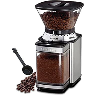 Paksh Novelty Cuisinart DBM-8 Automatic Burr Mill Coffee Grinder, Brushed Stainless Steel