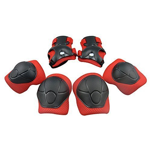 Kid's Protective Gear Set,Roller Skating Skateboard BMX Scooter Cycling Protective Gear Pads .