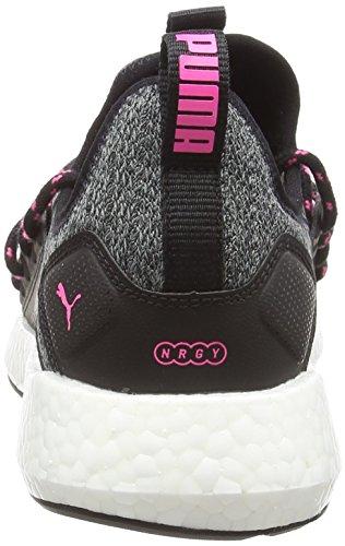 Black knockout Nrgy Noir puma De Knit Femme Chaussures Pink Wns Neko Running Puma vqUwfPU