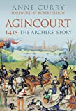 Front cover for the book Agincourt 1415 by Anne Curry