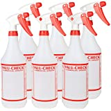 32 Oz Durable Commercial Empty Spray Bottles Perfect for Commercial And Home Use Such As Cleaning, Gardening, Beauty And More - Pack of 6