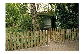 Klassischer Tur Zaun Aus Holz Fur Aussen Amazon De Baumarkt