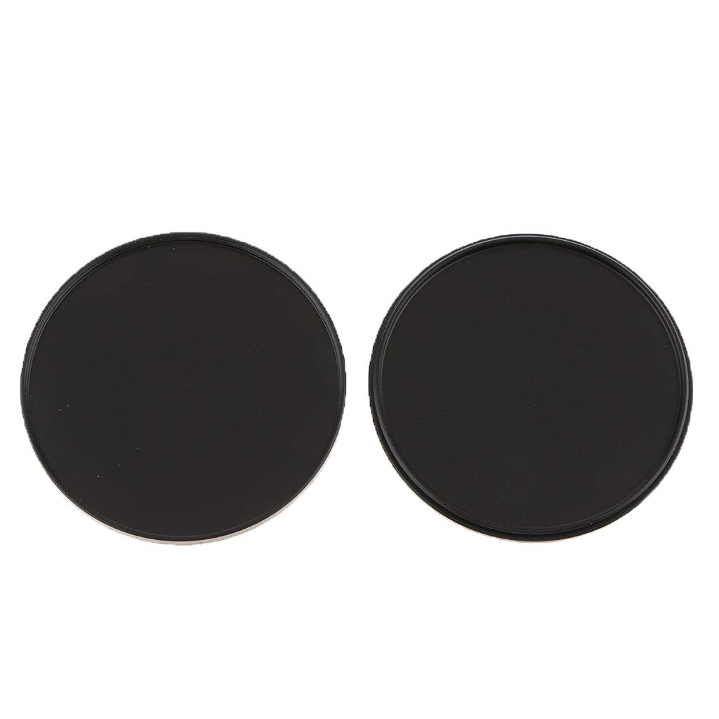 Baosity Portable 62mm UV CPL Filter Case Lens Cover Stack Storage Cap Metal Box Anti-Scratched Pressure Resistance Black